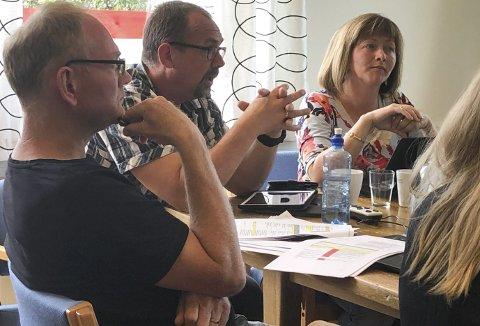 Tydelig tone: Kjetil Torp (Krf) var svært tydelig i sine uttalelser på formannskapsmøtet tirsdag. Foto: Anne Dehli