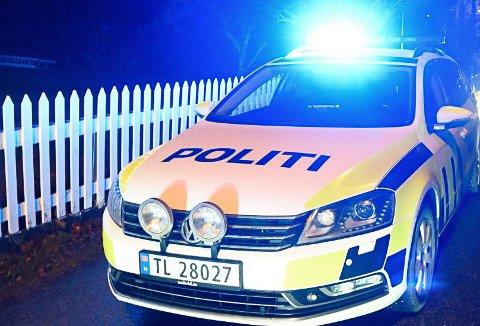 Politipatruljen rykket ut to ganger til samme adresse i Tvedestrand sentrum. (Illustrasjonsfoto)