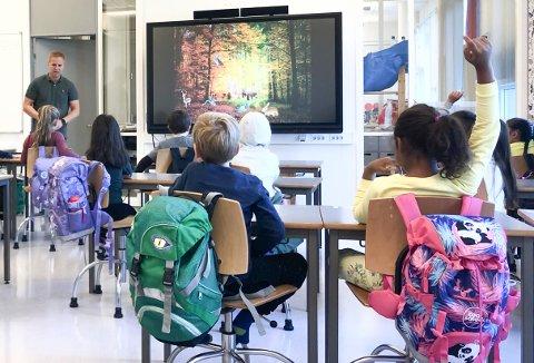 FLERE LÆRERE: Vestby-skolen trenger flere pedagoger ved skolestart høsten 2020.