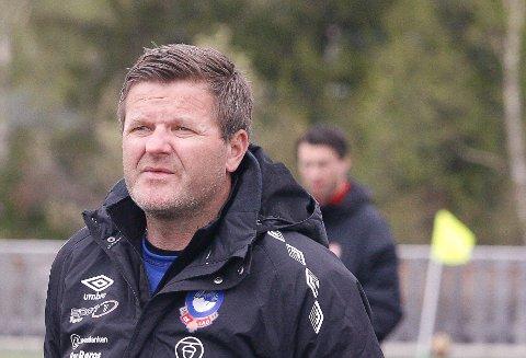 Trener for Røros Vegar Strickert.