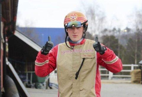 NÆR MILLIONEN: Per Vetle Kals (21) fra Gjerstad.