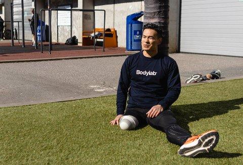 Nauy Nguyen gikk fra å være rusmisbruker til treningsentusiast. Foto: Sara Aarøen Lien