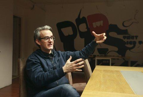 Nominert: Endre Lund Eriksen kan vinne Uprisen for sin nye bok «Baksiden».