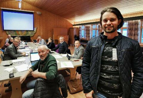Startet eget selskap: Christoffer Andreas Schistad Jansen har flere klare planer, som han nå er godt i gang med å realisere. Kommunen stiller seg også bak nysatsingen til den ferske gründeren.