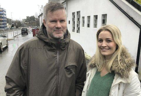 Jørn Lavoll og Linn Kathrin Taklo har laget musikken til spillet som vant prisen for beste audio.