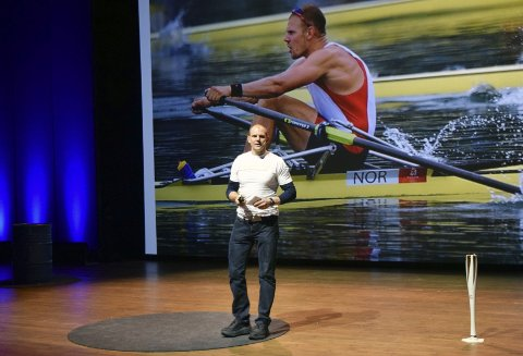Olympisk mester i roing, Olaf Tufte.