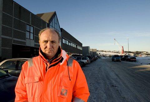 Nils-Petter Sivertsen har hatt en rekke toppstillinger i næringslivet. Her er han intervjuet i BA før han tok over MC Technologies i Houston..