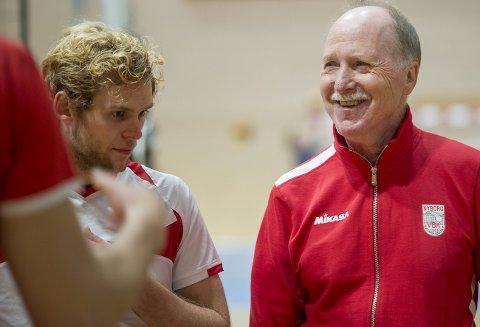 Ivar Bakken kan få en pris på Idrettsgallaen. Her er han sammen med Yngve Sundfjord tilbake i 2015, for Nyborg. Arkivfoto: BA