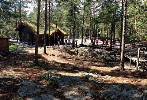 KARANTENE: Ormåsen barnehage i Øvre Eiker.