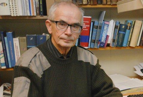 KRITISK: Historiker Steinar Pedersen er kritisk til høringsuttalelse til FeFo-direktør Jan Olli.