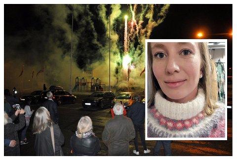 Elin Malene Berg (innfelt) er produsent for årets Nordkapp Filmfestival.