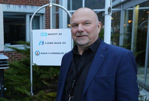 Konserndirektør i INC, Geir Johannessen.