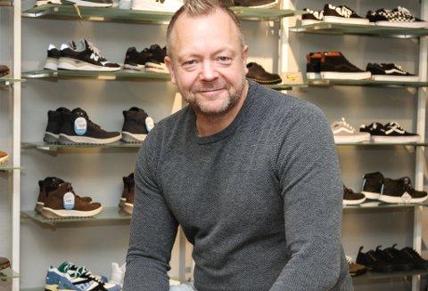 Bengt Solheim-Olsen. Sko Olsen greidde såvidt eit lite pluss i rekneskapen for dei ti driftsmånadane etter nyopninga i 2018.