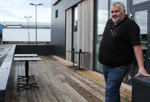 Steinar Svardal er leiar hos Sjøkanten Fisk og Delikatesse AS.