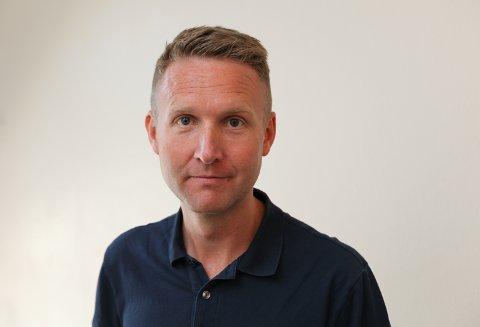 Kjell-Arne Nordgård ser effekten av vaksinasjonsgraden i kommunen. Smitten stoppar opp i møte med vaksinerte.