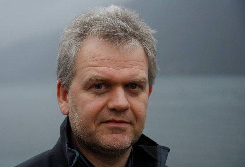 Isolert: Forhandlingsleiar Øystein Våge (Sp) sit att med 8 mandat og ingen og snakke med.Arkivfoto: Hilde Genberg