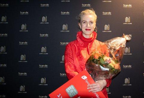 VANN I FJOR: Thea Hjelmeland vart tildelt Luttprisen 2018. No kan du vere med å nominere din favoritt til årets pris.