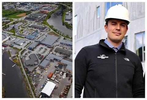 Førdefjorden Energi blir slått saman med BKK Varme. Aleksander Frøyen er dagleg leiar i førstnemnde selskap.