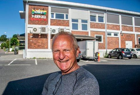 Starten: Det var her, hos grossisten Bergstrøm i Ilaveien, eventyret startet for 50 år siden. Nå bytter Aasmund Gabriel Olsen (68) arbeidsgiver, til Coca-Cola.