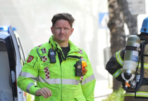 SEKSJONSLEDER: Kolbjørn Ingvaldsen er seksjonsleder for operativ avdeling i Ofoten brann.