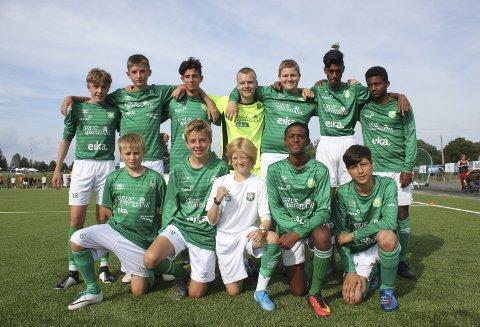 Mesterskapslag: Grue G14 består av flere spillere som var med på Norway Cup i sommer, hvor de nådde semifinalen. På søndag slo de Alvdal 3–1 i finalen og ble vinnerne av Grueturneringen.