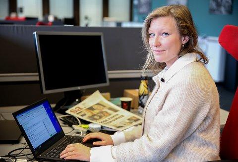 Tina Alnes-Jørgensen er på plass som journalist i redaksjonen til Sarpsborg Arbeiderblad. 30-åringen er tilbake i fødebyen etter et tiår i Nord-Norge og Innlandet.