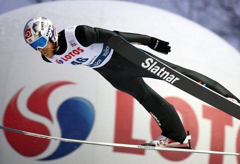 Robert Johansson kom på andre plass i kvalifiseringen til verdenscuprennet i Zakopane, bare slått av lagkamerat Johann André Forfang.