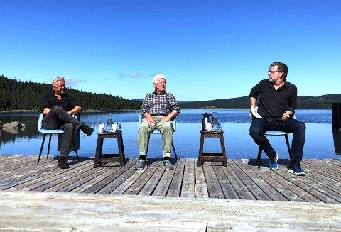 TRE PEER'ER: Dennis Storhøi, Toralv Maurstad og Mads Ousdal har alle hatt rollen som Peer Gynt.