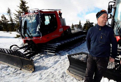 Tor Suleng lover å kjøre opp løyper på Gålå i påska.  - Men det er litt vondt å legge ut informasjon om oppkjørte løyper nå, sier han og tenker på alle de som gjerne ville vært på fjellet.