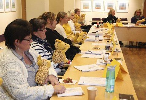 KURSET I TRAFIKKSIKKERHET: 70 deltakere fra om lag 30 barnehager har blitt kurset av Trygg Trafikk.
