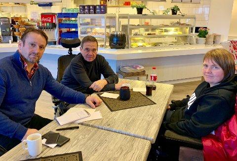 INITIATIVTAKERE: Disse tre vil stifte nytt lokallag i Norges handikapforbund på Hadeland. Fra venstre: Shaqir Rexhaj, Arve Dihle og Kjersti Løvhaug.