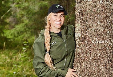 GODE TIDER: Kommunikasjonsleder i Viken Skog Linda Camilla Strømsod sier konsernet har vært gjennom store forandringer.