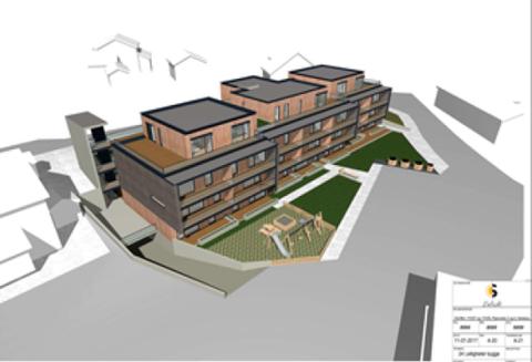 LEILIGHETER: Det er planer om 17 leiligheter i Piperveien 2-4.