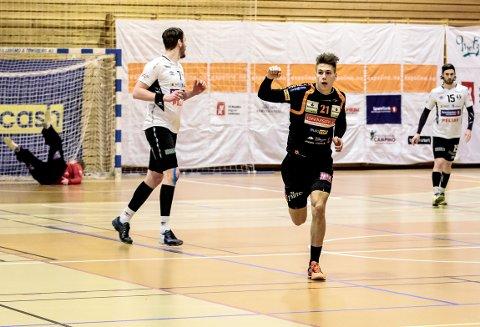 William Nilsen-Nygaard og HTH kunne juble over fornyet plass i eliteserien.