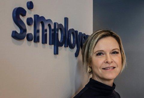 TAR ANSVAR: HR-direktør Marianne Reese Larsen i Simployer mener det er viktig at arbeidsgivere tar ansvar for at ikke coronaviruset skal bre seg.