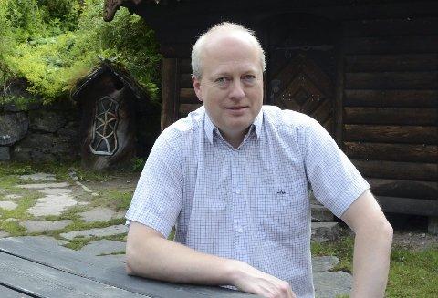 Storprosjekt: Dagleg leiar i Energiselskapet Hardanger AS fortel at kraftubygginga er et av fleire prosjekt der mange bedriftar er involverte.