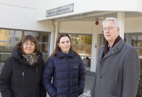 Turid Aune, Randi Wisnæs  og Jan Birger Medhaug. Foto: Hans Inge Ringodd