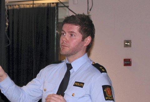 Pål Gjil, leder for operativ utlendingsenhet i Sørvest politidistrikts avsnitt i nord.