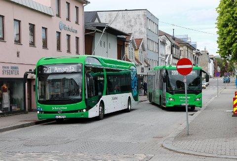 MANGE UTEN GYLDIG BILLETT: I mai reiste over 20 prosent av alle kontrollerte busspassasjerer på Haugalandet uten gyldig billett.