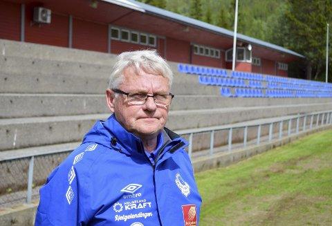 Klar for kamp: Kjell Vist er klar for helgas hendelser og har god tro på at det blir ei bra helg med Kippermocupen.