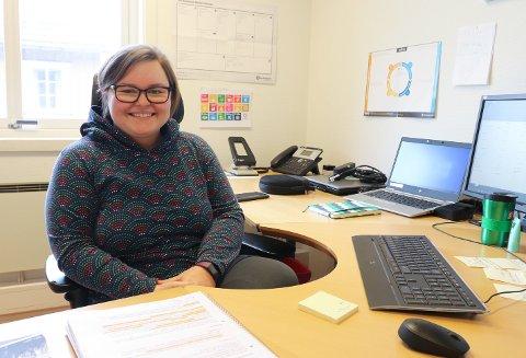 FORNØYD: Prosjektleder Ida Marie Larsen i MON er tilfreds med at CNF Arena har fått god fylkeskommunal støtte.