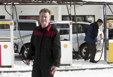 Arnt E. Johansen overtok Shellstasjonen i Vardø i 2009. FOTO: SVEIN HÅGENSEN