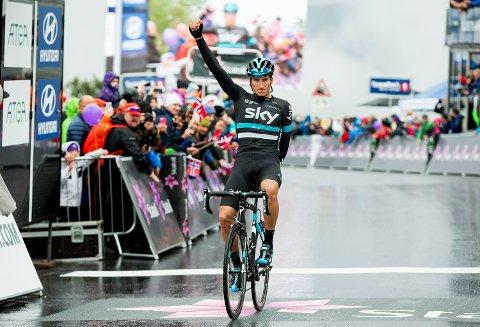 Skys italiener Gianni Moscon gikk til topps på den tredje etappen av Arctic Race of Norway.
