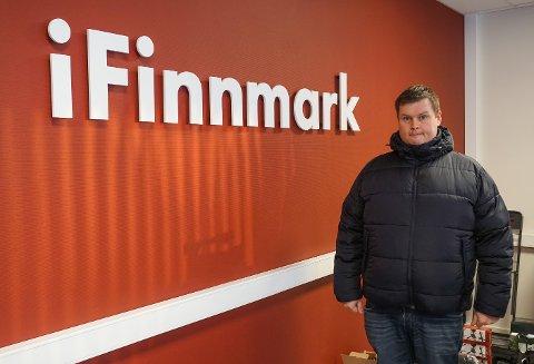 GLEDER SEG: Marius Thorsen ser frem til å starte i ny jobb 1. mai