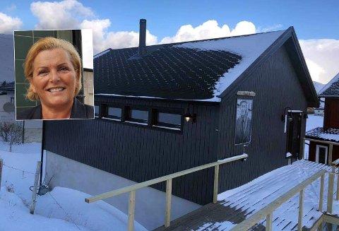 ÅPNER SNART: Lill-Karin Sanna åpner om kort tid Daniels hus i Skarsvåg.