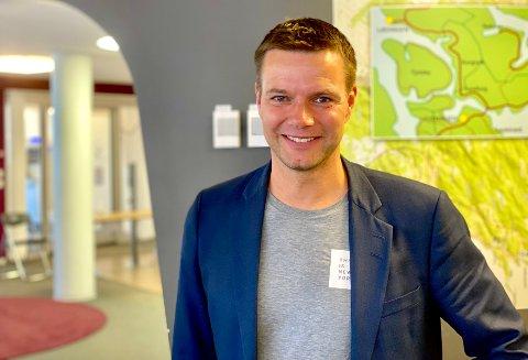 NATURLIG: – Harstad er den tredje største byen i nord og da er det naturlig at tallene blir slik, sier Runar Bjørkelund i EiendomsMegler1.