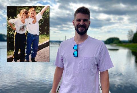 SJELEVENNER: Ola Jahr Røine mistet tvillingsøsteren sin, Guro, i 2010. Han beskriver det som å miste en del av egen kropp.