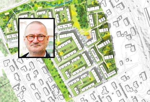 BÆREKRAFTIG: Ole Møystad mener prosjektet alt i alt er miljøvennlig.