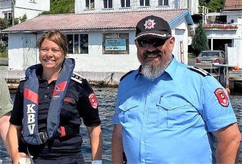 ANSETTER: Brannsjef Anne Lise Lønne og varabrannsjef Odd Morten Dalen ser etter ny kollega. Arkivfoto: Sarah Dürlinger