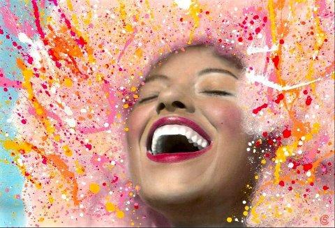 «Miss Sunshine», laga av Sandie Carol Dougnac, er eitt av bilda som skal seljast på nettauksjon til inntekt for Kreftforeningen.